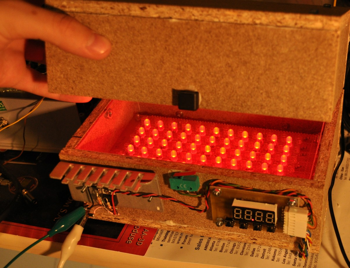 Led Uv Exposure Box Part 2 The Timer Electro Bob Circuit Training Other