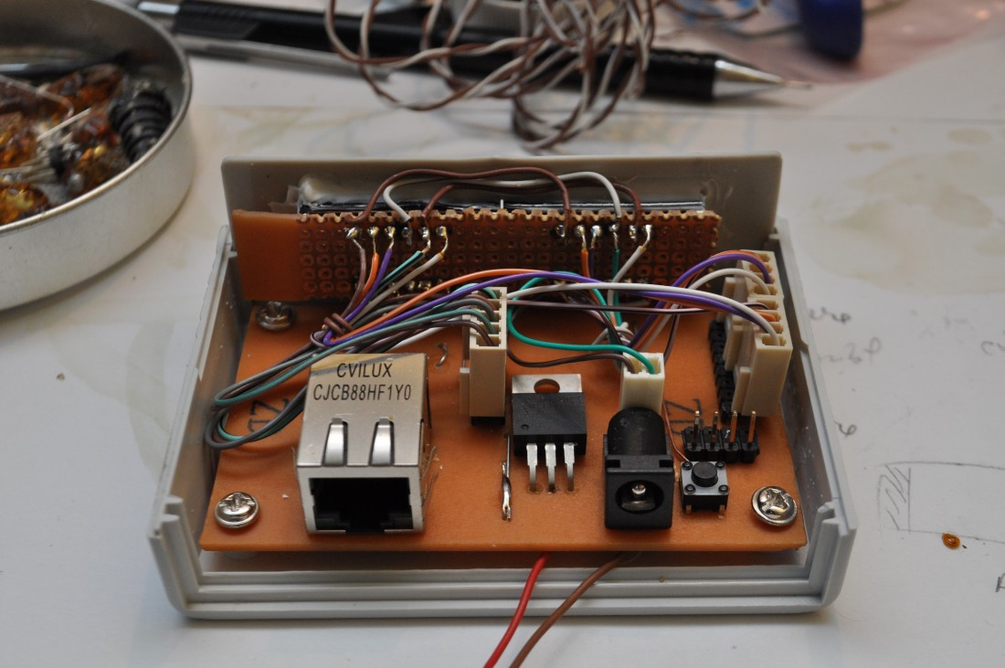 Ideas on how to mount electronics within a project box