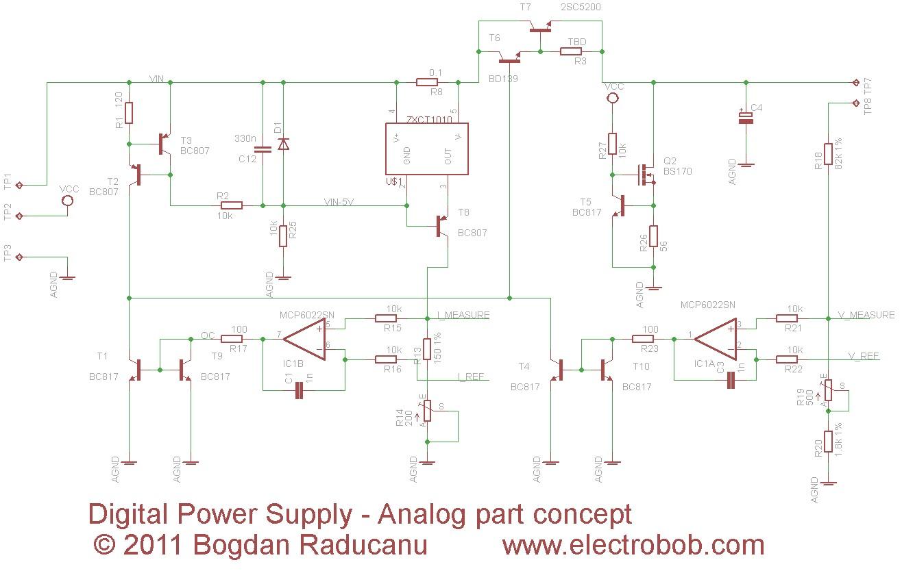 Digital Power Supply Part 1 Concept Electro Bob Sta543sa 21 Class Ab Amplifier Circuit Designcircuit Diagram