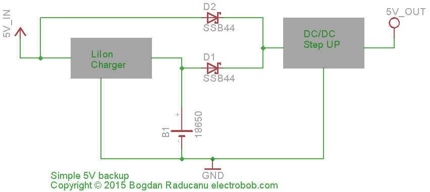 5UP – simple 5V UPS – Electro Bob Ups Wiring Diagram Field on diode diagram, troubleshooting diagram, service diagram, steel diagram, power supply diagram, speaker driver diagram, field lights diagram, field wire, field guide norfolk, installation diagram, junction box diagram, control diagram, port diagram, lighting diagram, field maintenance, manufacturing diagram, assembly diagram, battery diagram, relative humidity diagram, field tools,