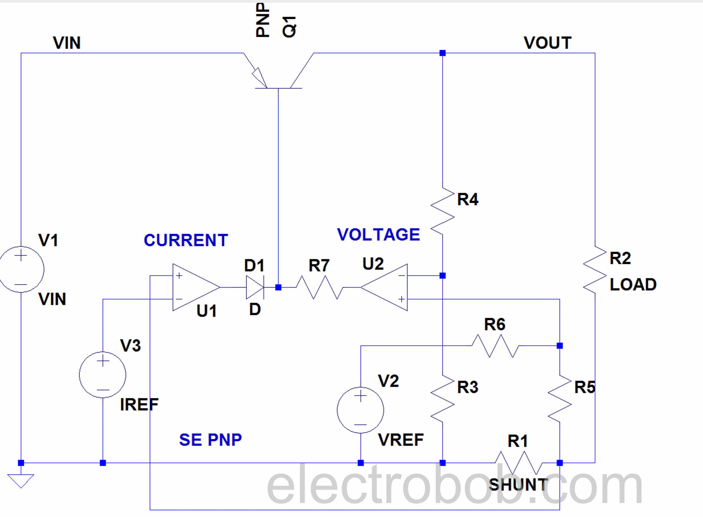Digital Power Supply Part 3 Concept Comparison Electro Bob Circuit Continuity Tester Using Opamps Eeweb Community Se Pnp Schematic