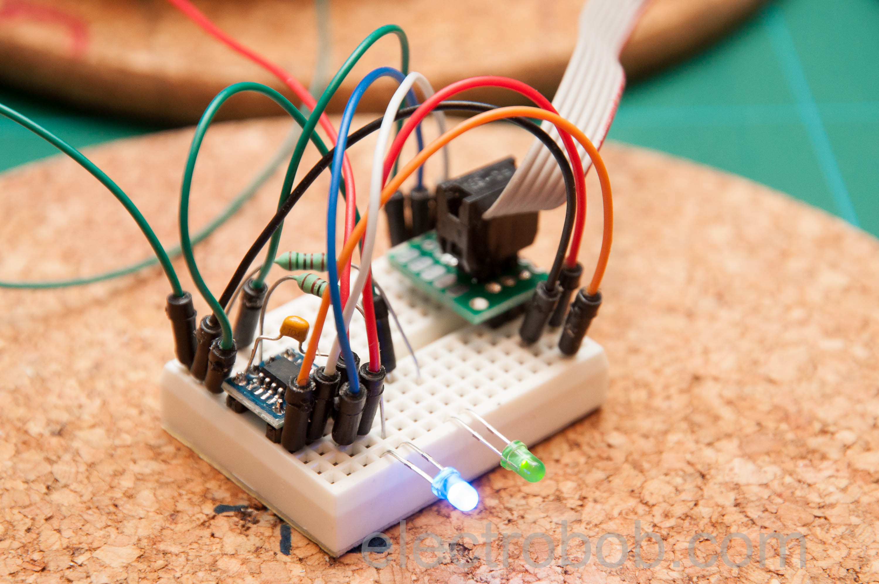 Autoresetrrr Electro Bob Simple Led Blinking Circuits Eeweb Community So Far The Software Is Incomplete But Reset Time Out Working Blue One That Will Blink While Green Simulates Device